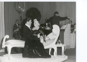 Steve Rossi and Mae West in Las Vegas 1954. All rights reserved copyright Steve Rossi
