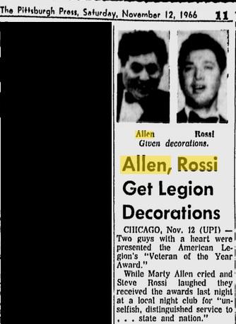 Allen Rossi Legion