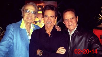 Gordie Brown with Steve Rossi and Rich Little
